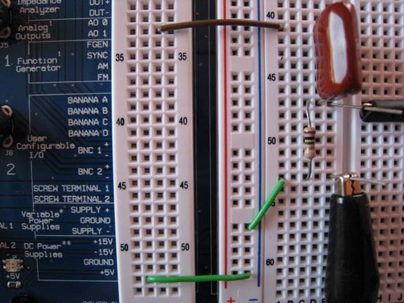 Figure 1 Voltage Divider Resistor Circuit