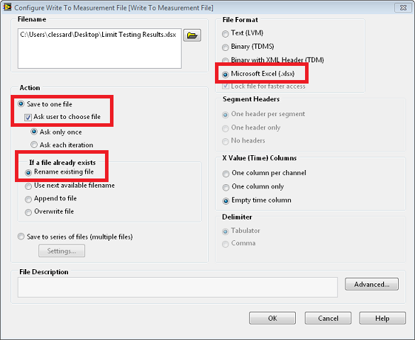 Automate Saving and Reporting Data with LabVIEW - National Instruments