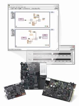 labview dsp,labview fpga和labview嵌入式模块将图形化编程的