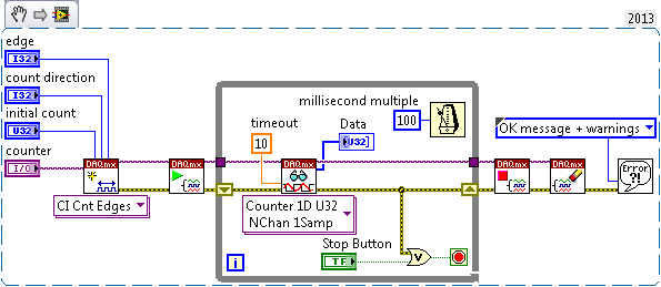 NI-DAQmx Start function
