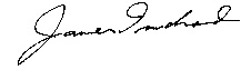 Dr. James Truchard's signature