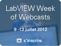 labVIEW Week of Webcasts