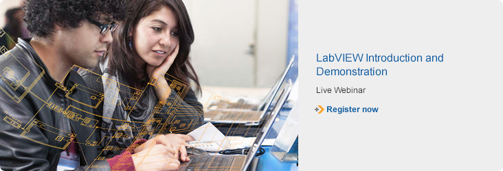 Live Webinar - LabVIEW Introduction and Demonstration