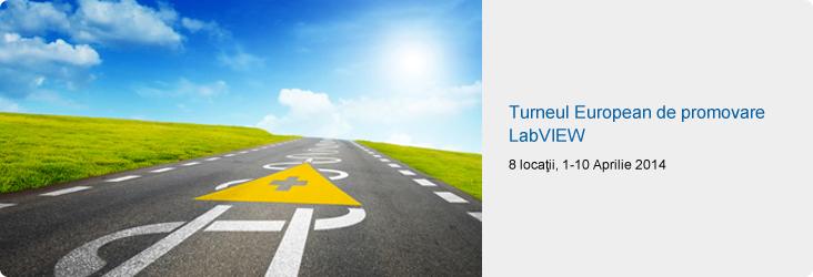 Turneul European de promovare LabVIEW