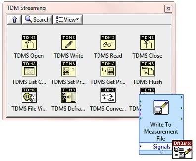 With multiple interfaces for writing TDMS files, you can choose the one that best fits your needs.