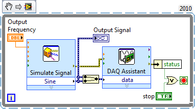 Generating A Signal National Instruments